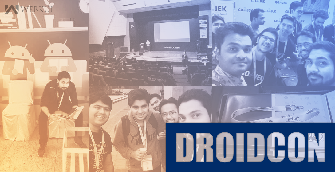 Biggest android conference of the Year, DroidconIN, MLR Convention Centre, Bangalore #droidconin2016